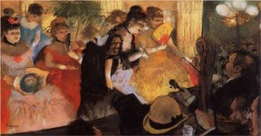 The Cafe Concert, Degas