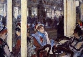 Degas, Women on a cafe terrace