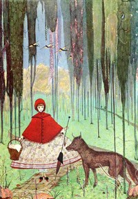 Red Riding Hood by Harry Clarke