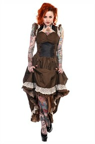 Banned Victorian Steampunk Dress