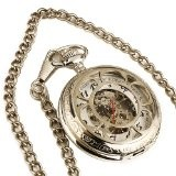 Stainless Steel Wind Up Pocketwatch