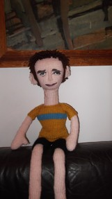 Bradley Wiggins doll