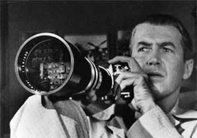 The first act of Rear Window