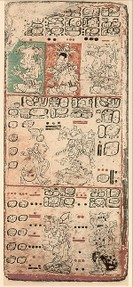 Dresden Codex - WikiCommons