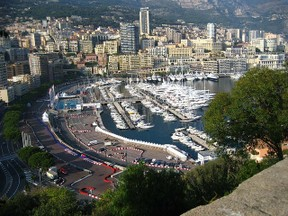 Monaco's parking lot for the extremely wealthy where, in happier times, Prince Bolkiah used to tie up his yacht.