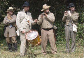 Image: Confederate Fife and Drum Band