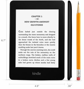 kindle paperwhite dimensions