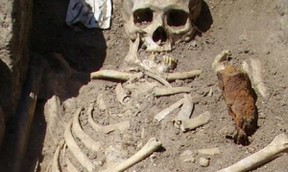 Image: Vampire burial from Bulgaria