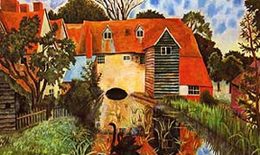The Mill at Tidmarsh by Dora Carrington
