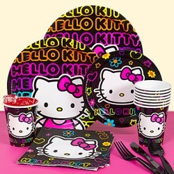 hello kitty tween party