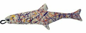 Yeowww Catnip Pollock Fish catnip cat toy
