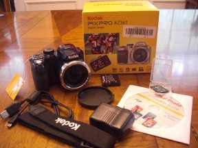 Kodak Pixpro AZ361 Digital Camera and Accessories