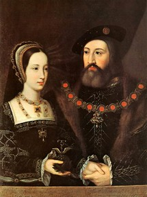 Mary Tudor and Charles Brandon Marry