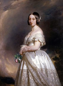 Victoria depicted in 1842