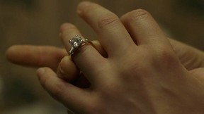 Image: True Blood Sookie wearing engagement ring.
