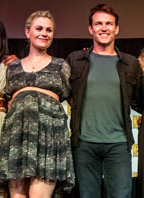 Image: Anna Paquin and Stephen Moyer