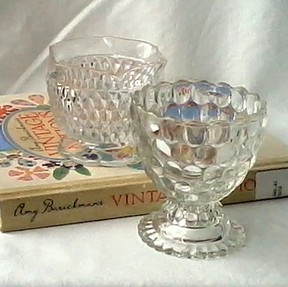 Glassware and a Book