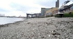Thames Foreshore at Greenwich
