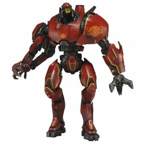 Crimson Typhoon: A robot toy from Pacific Rim.