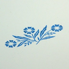 Cornflower Blue Pattern