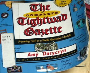 Library copy of the complete Tightwad Gazette