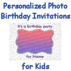 Personalized Photo Birthday Image