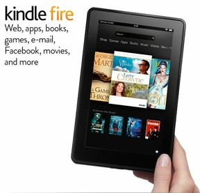 kindle fire tablet computer