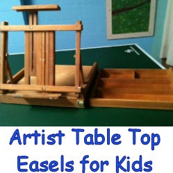 Artist table top easels for kids, image
