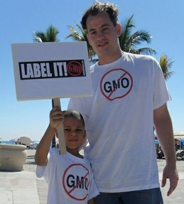 Campaign to label gm food