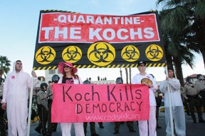 The Koch brothers draw a lot of criticism