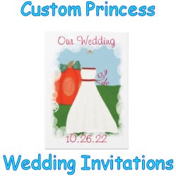 Custom Princess Wedding Invitations image