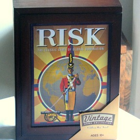 Bookshelf Risk Game