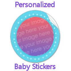 Personalized Baby Stickers image