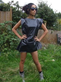 Image: Bin Bag Dress