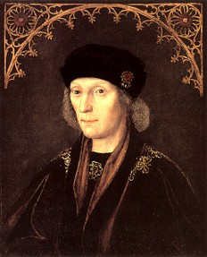Henry VII killed Richard III in battle