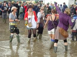 Image: glastonbury mud