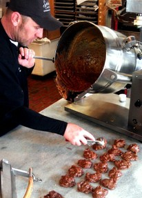 Pralines Made at Savannah Candy Kitchen