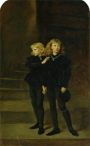 King Edward V and Prince Richard of York