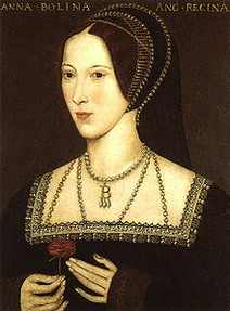 Henry VIII's second wife Anne Boleyn