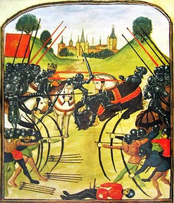 Image: The Battle of Tewkesbury