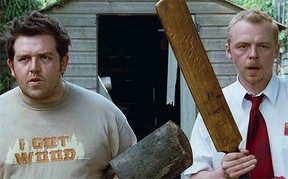 Image: Ed and Shaun in Shaun of the Dead