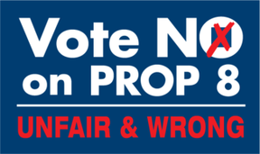Image: Vote No on Prop 8