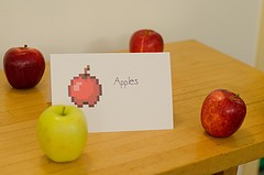Minecraft apples by qwrrty