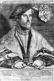 The Duke of Cleves, Anne of Cleves' brother