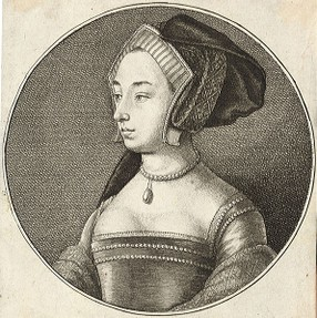 Small portrait of Anne Boleyn