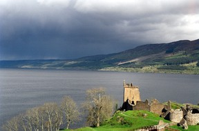 Image: Urquhart Castle and Loch Ness