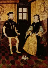 Marriage between Mary I of England and Philip II of Spain