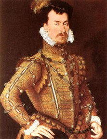 Robert Dudley was Elizabeth I's favourite courtier