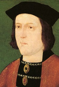 Edward IV died leaving Richard as regent