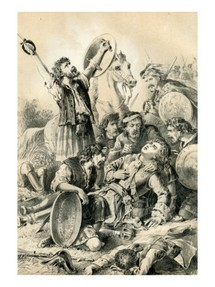 Image: Death of Dundee at Killiecrankie